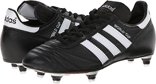 - adidas Performance Men's World Cup Soccer Cleat, Black/White, 8 M US