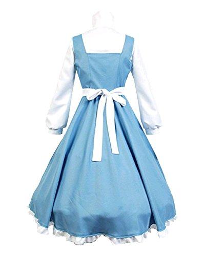 Amayar Women Apron Maid Dress Cosplay Costume