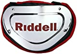 Riddell Sports Back Plate Chrome Finish, One Size