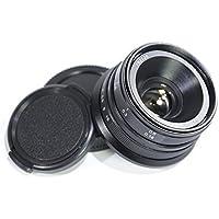 Pixco 25mm F1.8 HD.MCManual Focus Lens for Micro Four Thirds M4/3 mount Cameras Like GX8 GX85 G7 G5 GX1 G3 G10 GH2 E-M10 - Black