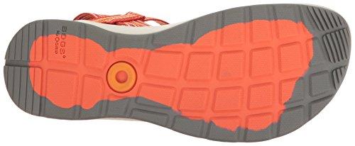 Myrar Kvinna Rio Ränder Athletic Sandal Orange / Multi