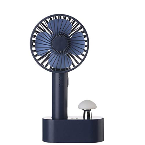 SOOTOP Mini USB Fan, Desktop Fan Small Personal Portable Animal Table FanMulti-Function Rechargeable Cooling Folding Electric Fan Bedroom Travel Office Household Outdoor Dormitory
