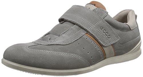 ECCO Chander, Sneaker a Collo Basso Uomo Grigio(warm Grey/Mahogany/Moon Rock 58981)