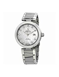 Omega DeVille Mother of Pearl Dial Stainless Steel Ladies Watch 42530342055002