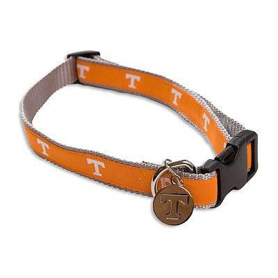 NCAA Tennessee Volunteers Dog Collar, Medium/Large