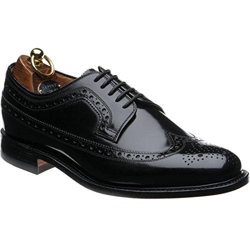 Herring Herring Northfields - Zapatos de cordones para hombre Negro Black Polished