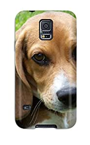 New Arrival Beagle Dog OpxFtsk8975MGJKD Case Cover/ S5 Galaxy Case