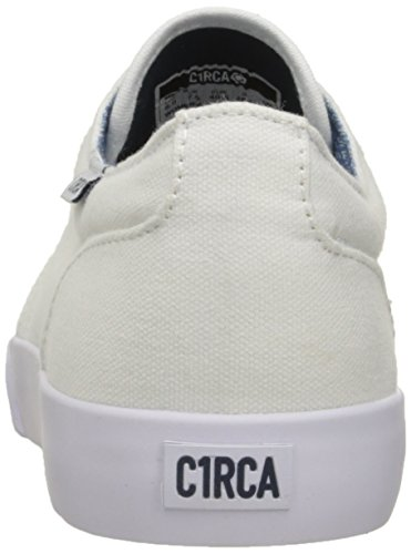 C1RCA Drifter Drf, Scarpe Da Skateboard Uomo White/Dark Denim