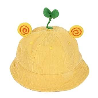 d8f13536999 Baby Girls Boys Bucket Hat UPF 50+Sun Protection Corduroy Bean Sprouts  Rabbit Ears Cartoon