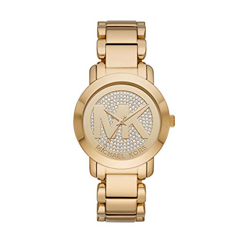 Michael Kors Women's Tiffany Rose Gold Tone Stainless Steel Watch MK3376