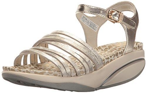 MBT Damen Kaweria 6 W Sandal Slingback, Silber Goldfarben (gold)