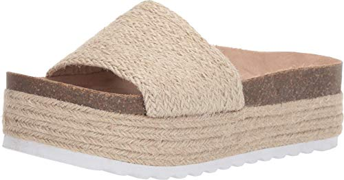 (Dirty Laundry by Chinese Laundry Women's Palm Espadrille Wedge Sandal Natural Jute 9.5 M US)