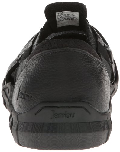 Jambu Heren Cobra Slip-on Loafer Zwart