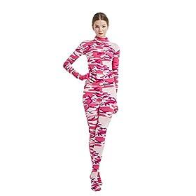 Full Bodysuit Womens Costume Without Hood Spandex Zentai Unitard Body Suit
