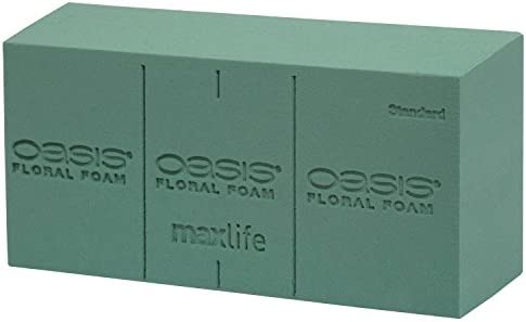 Oasis Floral foam 20 blocks wet genuine maxlife floristry foam Best Quality
