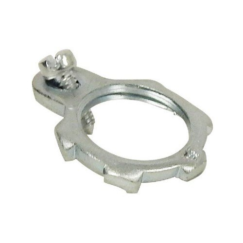 2-1//2 Trade Size 2-1//2 Trade Size Steel Morris Products 14748 Grounding Locknut