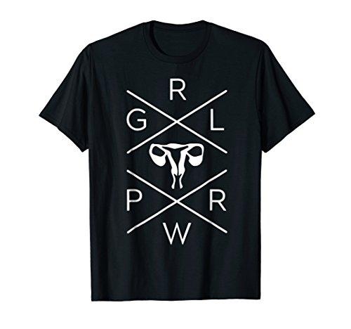 Mens Uterus GRL PWR Shirt - Girl Power