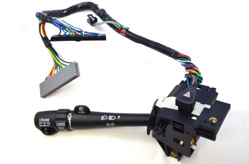 Buick Turn Signal (PT Auto Warehouse CBS-1375 - Combination Switch - with Cruise Control, Dimmer, Turn Signal, Windshield Wiper, Hazard Warning)