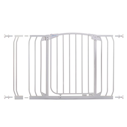 Dreambaby Chelsea 38-46 in Auto Close Security Gate w/ Stay Open Feature- White by Dreambaby