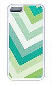 iPhone 5c case, Cute Green Stripes iPhone 5c Cover, iPhone 5c Cases, Soft Whtie iPhone 5c Covers by runtopwell
