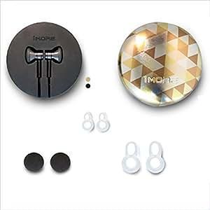 Arena de Clover 1más Kim chul-ear Auriculares Star elegante de titanio y escuchar música en auriculares de titanio Star