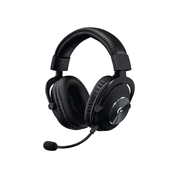 Logitech G PRO X Gaming Headset with Blue VO!CE, DTS Headphone:X 7.1 and 50 mm PRO-G Drivers (for PC, PS4, Switch, Xbox One, VR) - Black