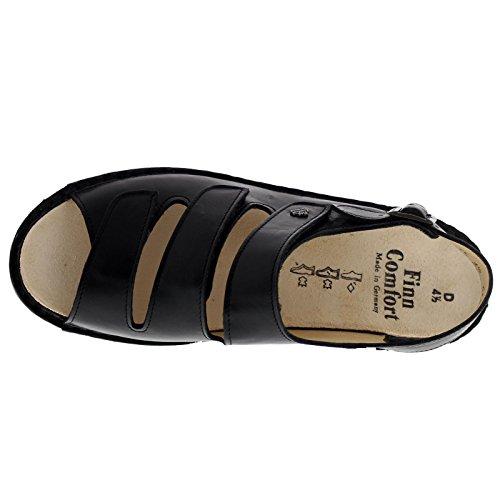 Comfort Nappaseda 2664 Sandals Leather Black Samoa Womens Finn vI6qdv
