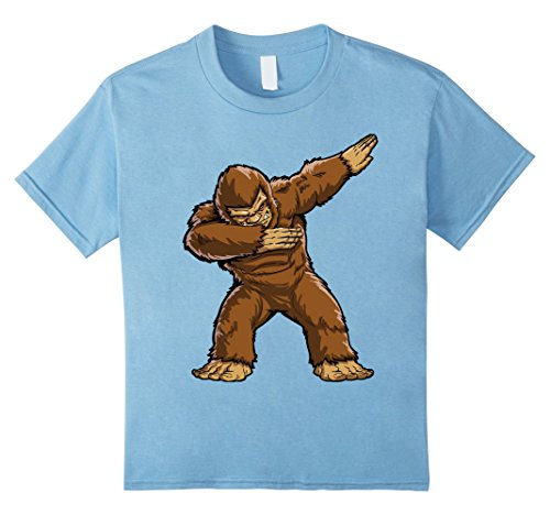 Infant Sasquatch Costume (Kids Bigfoot Sasquatch Dabbing T Shirt Funny Dab Monster Gifts 8 Baby)