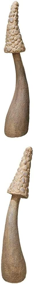 Design Toscano S/2 Mystic Mushroom Statues