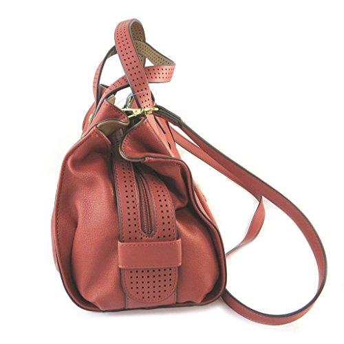 Bolsa de diseñador 'Nica'ámbar - 30x20x17.5 cm.