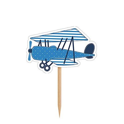 /Type Avion 6/pi/èces Unbekannt Cupcake et d/écoration de g/âteau/