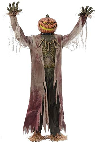 (Corn Stalker Life-sized Animated Prop Creepy Halloween Decor Wicked)