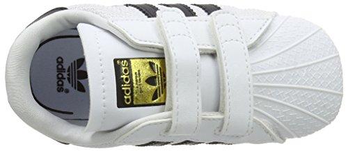 Adidas 000 Crib negbas Pantofole Bianco Superstar 0 ftwbla 24 Bimbi Unisex rrRU6wAf