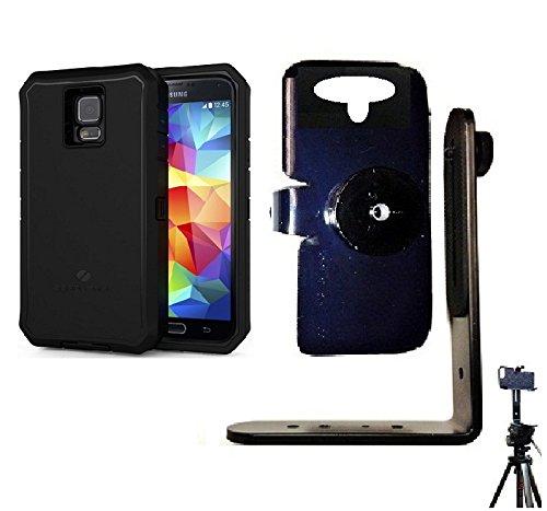 SlipGrip Tripod Mount For Samsung Galaxy S5 i9600 & SM-G900v Using ZeroLemon 8500mah Extended Battery Case