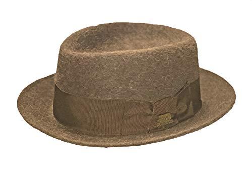 Stetson 150th Anniversary Edition 60's Gun Club, Brown, 7 1/4 (Stetson Hats Gun Club)