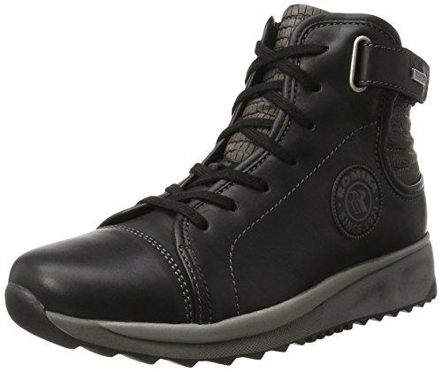 Romika Vrouwen Romana 11 High Sneaker Zwart (zwart-combineren (101))