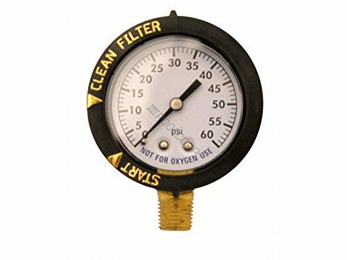 Superpro Pentair 190058 Pressure Gauge Replacement (Gauge Swimming Pool Pressure)