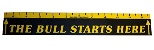 Viper Dart Throw/Toe Line Floor Marker: The Bull Starts Here (Steel/Soft Tip - Foul Line