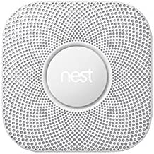 Nest Protect Smoke and CO Alarm | 2nd Generation Battery Powered Smoke and Carbon Detector
