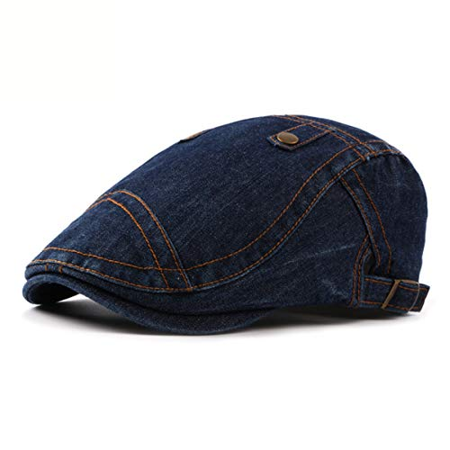 de Hombres los hat de de GLLH los la Moda Hombres Lavado Sombrero Sombreros qin béisbol Sombrero Sombrero Mezclilla de la C D a Sombrero de Boina Delantero t0tfwqY