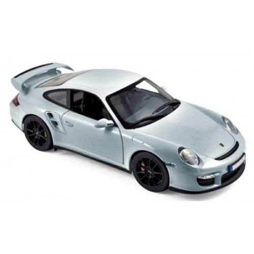 Amazon.com: NEW 1:18 W/B NOREV COLLECTION - SILVER 2007 PORSCHE 911 GT2 Diecast Model Car By Norev: Toys & Games