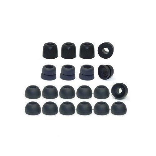 Medium – イヤホンPlusブランド交換用イヤホンクッションAssortment :メモリーフォームEarbuds、bi-levelヒント、耳と標準交換用耳クッション(詳しく製品詳細をコネクターサイズ)   B01FY3COT2