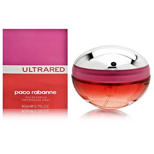 Ultrared by paco rabanne for women eau de parfum spray 27 ounces