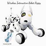 Dimple Wireless Remote Control Robot Puppy Interactive RC Animal Toy Sings, Dances, Eye Mode, Speak for Kids