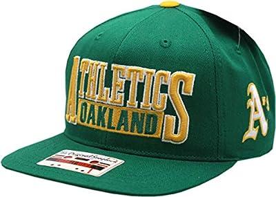 Oakland Athletics Snapback Steelman Flat Bill Green