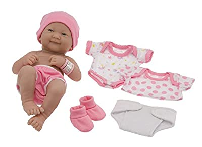 La Newborn Nursery 8 Piece Layette Baby Doll Gift Set | Popular Toys