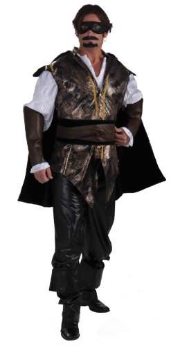 Forum Novelties Men's Designer Collection Deluxe Don Juan Costume, Multi, Medium