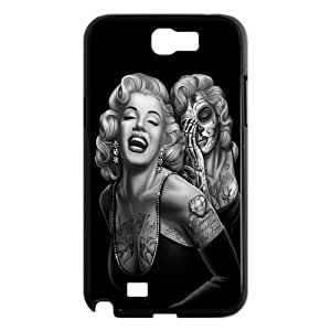 Mystic Zone Zombie Marylin Monroe Case for Samsung Galaxy Note 2/II Hard Cover Star Theme Fits Case WK0640 by icecream design