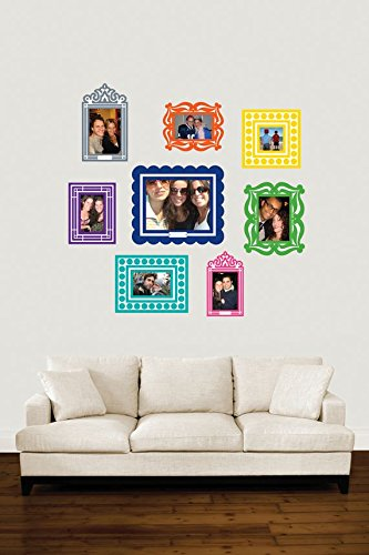 colorful picture frames - 3