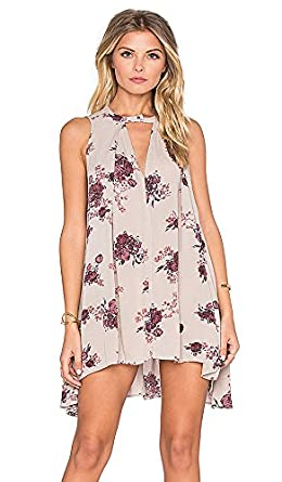 82235a9b4ccd Image Unavailable. Image not available for. Color: Free People Tree Swing  Dress ...
